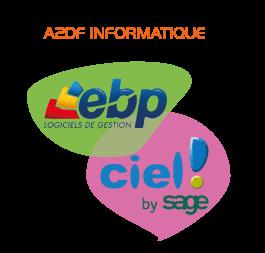 Revendeur EBP et CIEL: installation, mise à jour, intervention rapide. Nous sommes en lien direct avec le service commercial et le service technique des logiciels