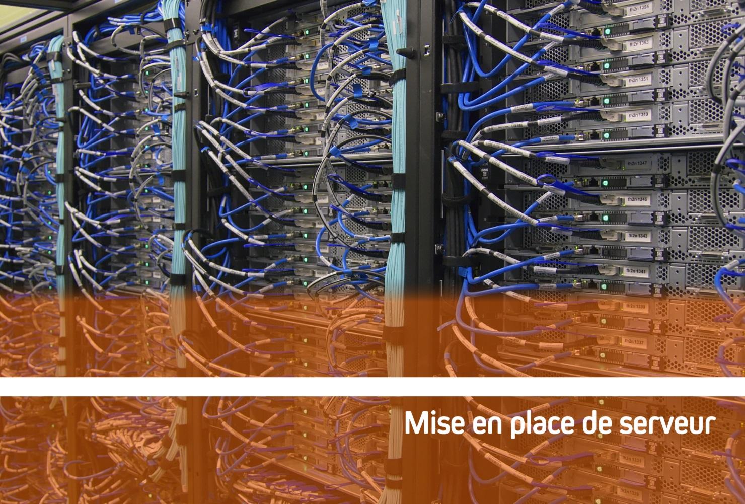 Mise en place de serveur pour la sécurisation de vos données (NASE, etc...)